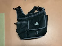 Black and gray unisex diaper bag Maggie Valley, 28751