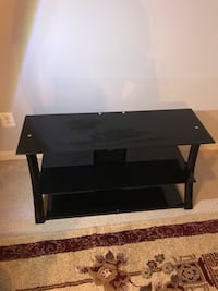 black wooden TV stand with mount Woodbridge, 22191