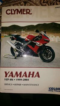 Clymer Yamaha R6 Maint. Manual 18 mi
