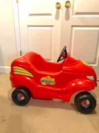 "Rare and Vintage The Wiggles ""Big Red Car"" Ride On"