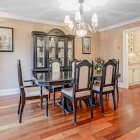 Solid Wood Dining Room Set Caledon