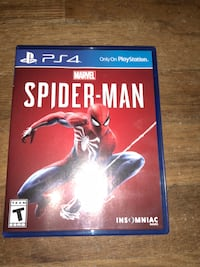 New never used Spider-Man game for ps4 Shepherdsville, 40165