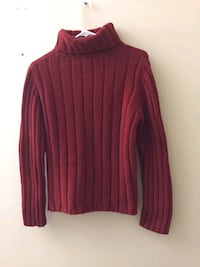 Red rolled neck sweater Bethesda, 20814