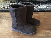 Girls size 12 brown boots/ worn only a couple times Bristow, 20136