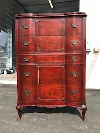 Antique Mahogany 5-Drawer Chest of Drawers Holly Springs, 27540
