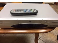 Clairtone DVD player with remote. $20 St. Catharines