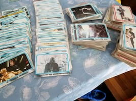Star Wars trading cards and other miscellaneous.