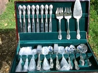 Wallace Stainless Steel Flatware Service for 10  Washington