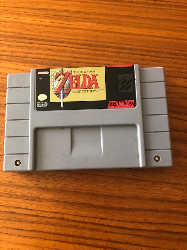 LEGEND OF ZELDA SNES SUPER NINTENDO GAME