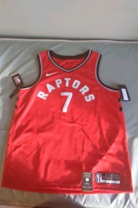 Signed Kyle Lowry Championship Jersey XL  Toronto, M6J 1H4