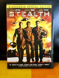 Stealth - High  fly adventure   / 2 disc nice like new DVD in case / Movie wide screen edition Alexandria, 22311