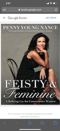 Feisty and Feminine by Penny Nance