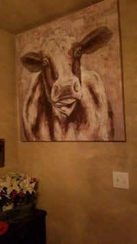 Cow canvas painting  Gentry, 72734