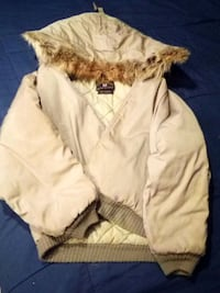 Mens Beige Winter Coat Yorktown, 47396