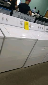 Whirlpool electric set dryer/washer.