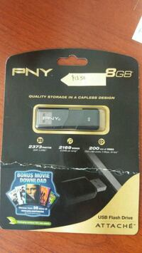 PNY 8GB USB Flash Drive  Council Bluffs, 51501