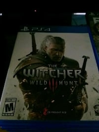 The Witcher Wild Hunt PS4 game case Fairmont, 26554