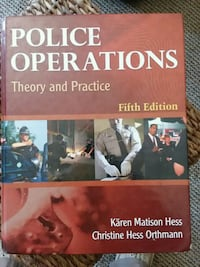Police text book.  South Bend, 46601