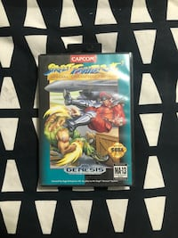 Sega Genesis Street Fighter 2 Game Brantford, N3R 2E3