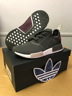 NMD R1 Glitch Camo Solid Gray / BB 2886 / Adidas Mens 11 / Ftw
