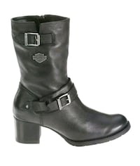 NEW Harley Davidson Womens 9.5 Leather Boot Serita Bennet, 68317