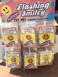 Smiley Flashing Buttons for your Party Fresno, 93727