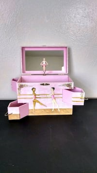 ENCHANTMENTS BALLET SCHOOL MUSIC JEWELRY BOX