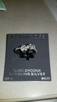 silver-colored Pandora ring Redwood City
