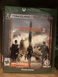 Tom Clancy the division 2 xbox one sealed Los Angeles, 90011