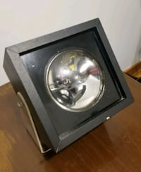 Vintage floor spot light with Lucite stand Calgary, T3E 2A1