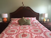 Ashley King Bed. Box springs (2 twin). Mattress not included New Albany, 47150