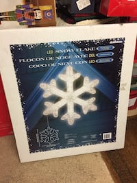 "Giant 36"" led snowflake -NIB San Jose, 95135"