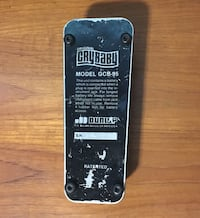 Dunlop Cry Baby wah pedal Port Perry, L9L 1B5