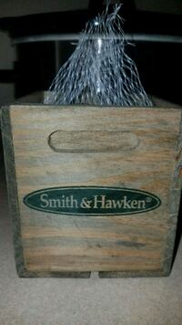 New Smith & Hawken wooden crate decor Midwest City