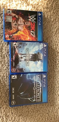 two Sony PS4 game cases 27 km