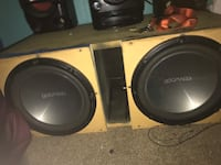 Kenwood/Alpine/Dual BT Subwoofer Audio System  Rocklin, 95677