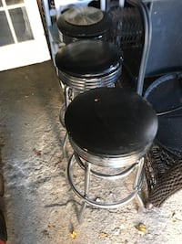 Black and silver swivel bar seat Pawtucket, 02861