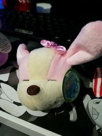 white and pink rabbit plush toy East Los Angeles, 90022