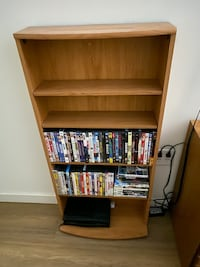 DVD/Video Game/Picture Shelf