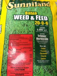 Weed & Feed. 20 lb bag Palm Harbor, 34684