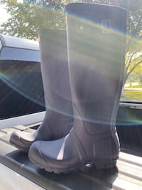 Hunter water proof boots