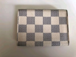 Louis Vuitton LV Card Wallet Holder - Damier Azur Canvas