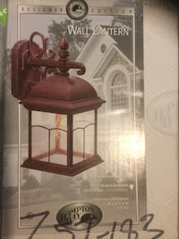 Outdoor copper wall lantern new Placentia, 92870