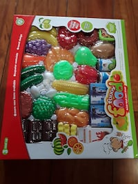 Funny food build you own fruit toy set Dumfries, 22026