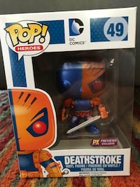 Funko pop! Deathstroke  vinyl figure Englewood, 80110