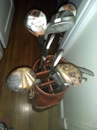 Old golf clubs $5