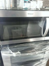 stainless steel and black microwave oven Wallingford, 06492