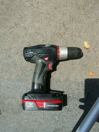 red and black cordless hand drill Virginia Beach, 23453