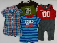 (107) Baby clothes for boys 0-24 months
