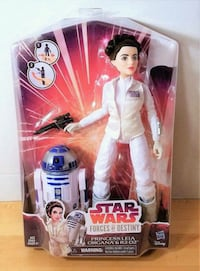 PRINCESS LEIA AND R2-D2 FIGURES STAR WARS FORCES  Markham, L3S 1V6